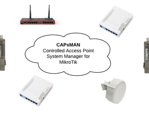 Mikrotik – RouterOS CapsMan ( Controlled Access Point System Manager ) Yapılandırma Örneği