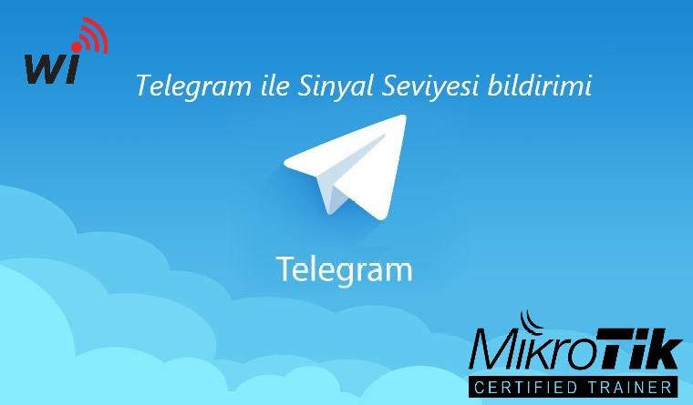 Telegram -> Wifi Sinyal Seviyesi Bildirimi